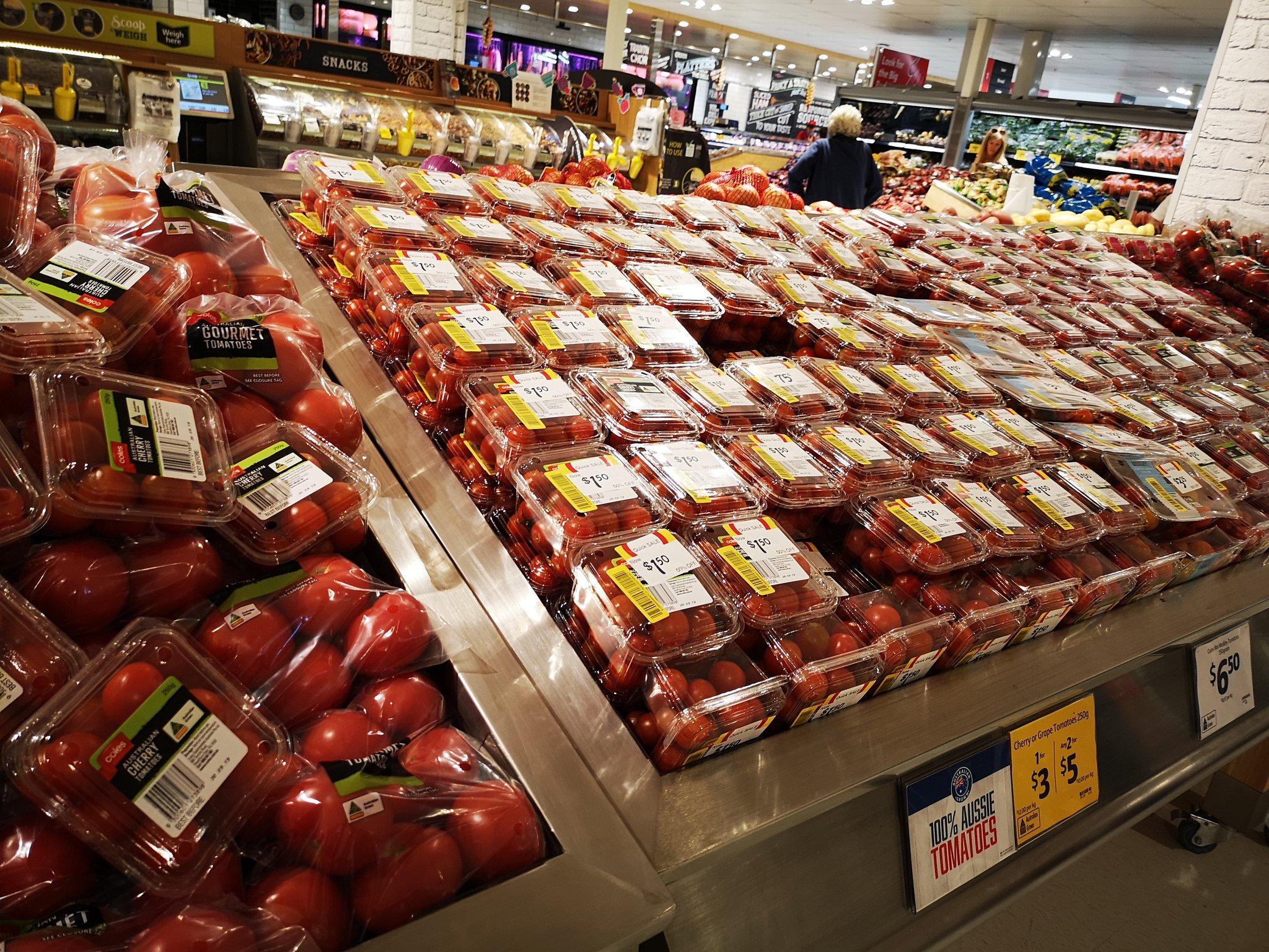 オーストラリアのスーパーで発注ミス